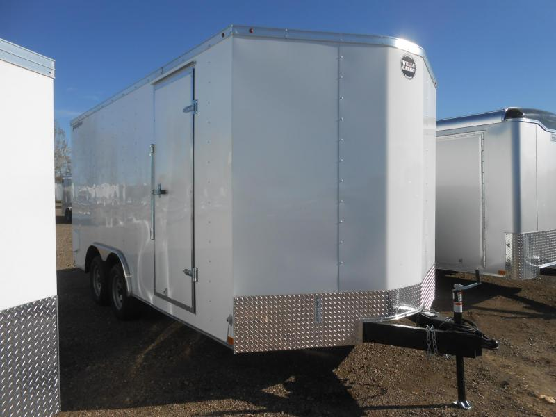 2020 Wells Cargo FT8516T2-D-RD Enclosed Cargo Trailer