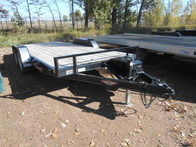 2012 H and H Trailer Seed Loader EX - Power Tilt Car / Racing Trailer