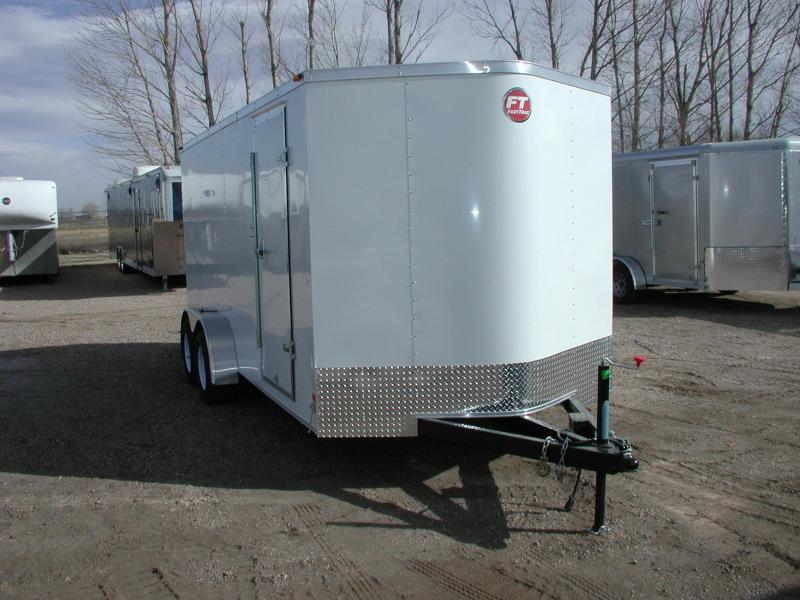 2016 Wells Cargo FT7162-DBL DRS Enclosed Cargo Trailer