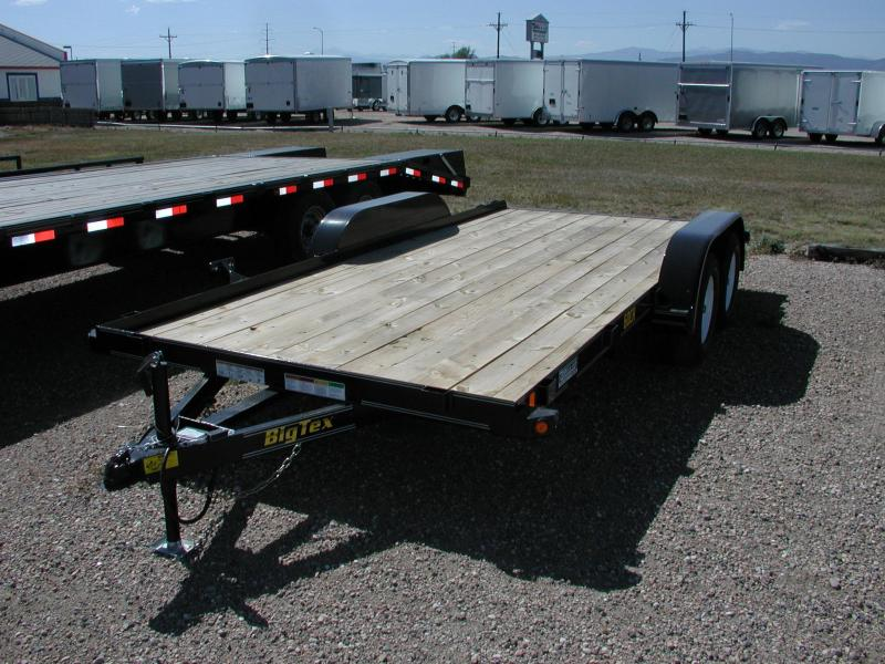 2015 Big Tex Trailers 70CH-16 Car / Racing Trailer