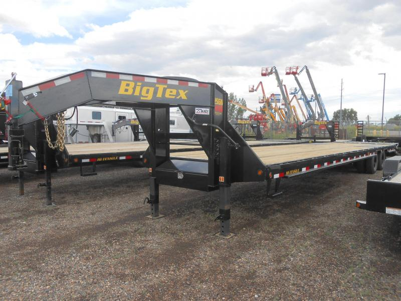 2020 Big Tex Trailers 25GN-35-5MR Flatbed Trailer