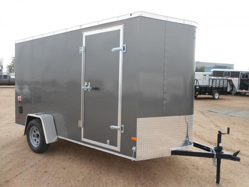 2016 Wells Cargo FT6121 Enclosed Cargo Trailer