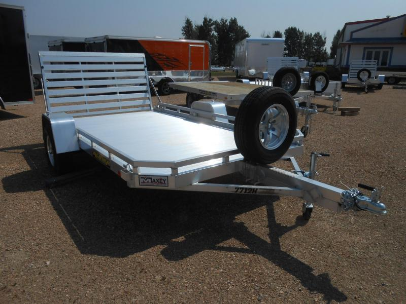 2021 Aluma 7712H All Aluminum Utility Trailer