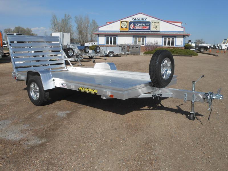 2021 Aluma 6812H All Aluminum Utility Trailer
