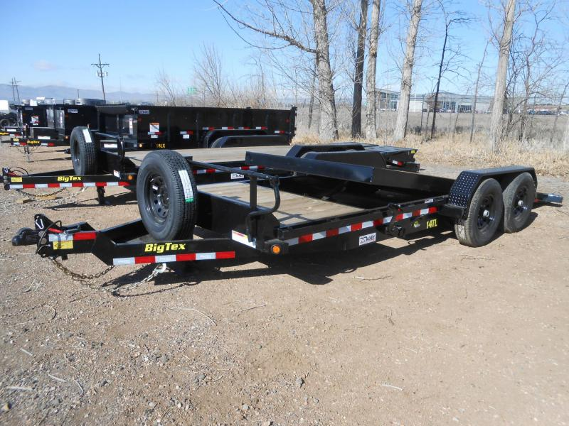 2020 Big Tex Trailers 14TL-20 Tilt Deck Equipment Trailer