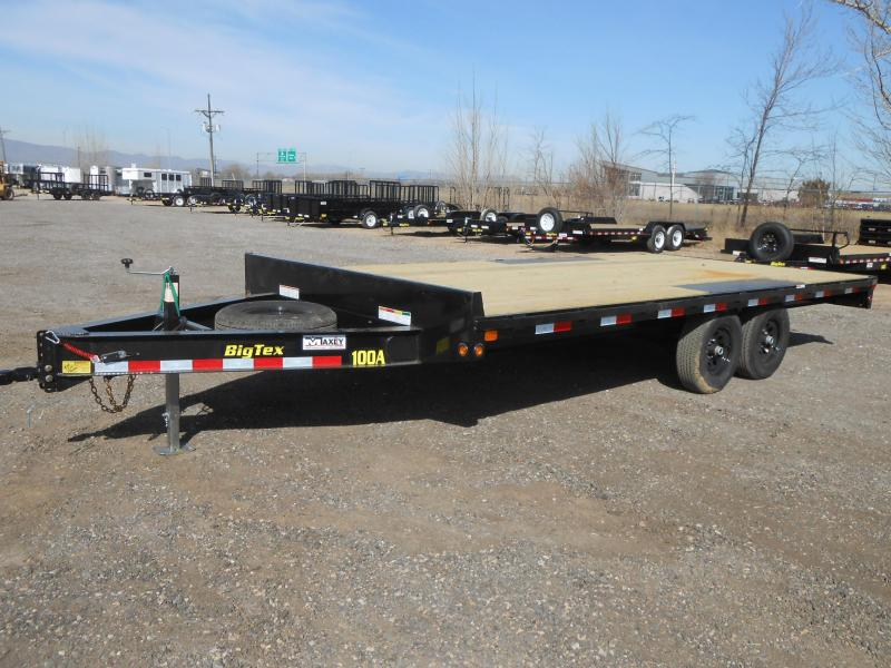 2019 Big Tex Trailers 10OA-18 Bumper Pull Deck-Over Flatbed Trailer