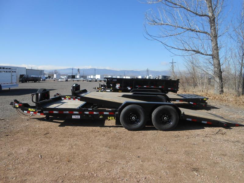 2019 Big Tex Trailers 14TL-20 Tilt-Deck Equipment Trailer
