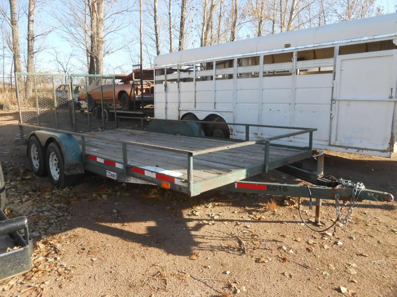 1995 Other Sport Trail 7 X 16 Utility Trailer