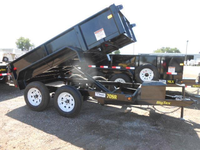 2016 Big Tex Trailers 70SR-10-5WDD Dump Trailer