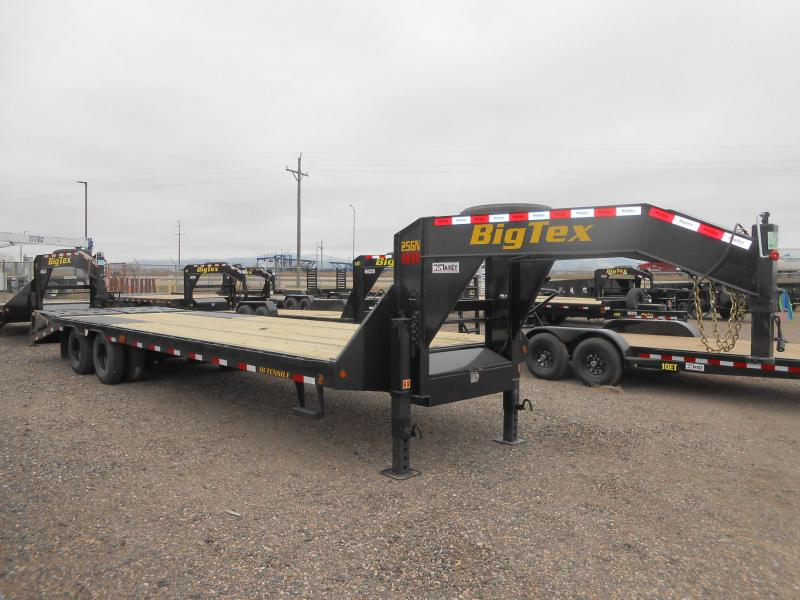 2020 Big Tex Trailers 25GN-25-5MR Gooseneck Flatbed Trailer