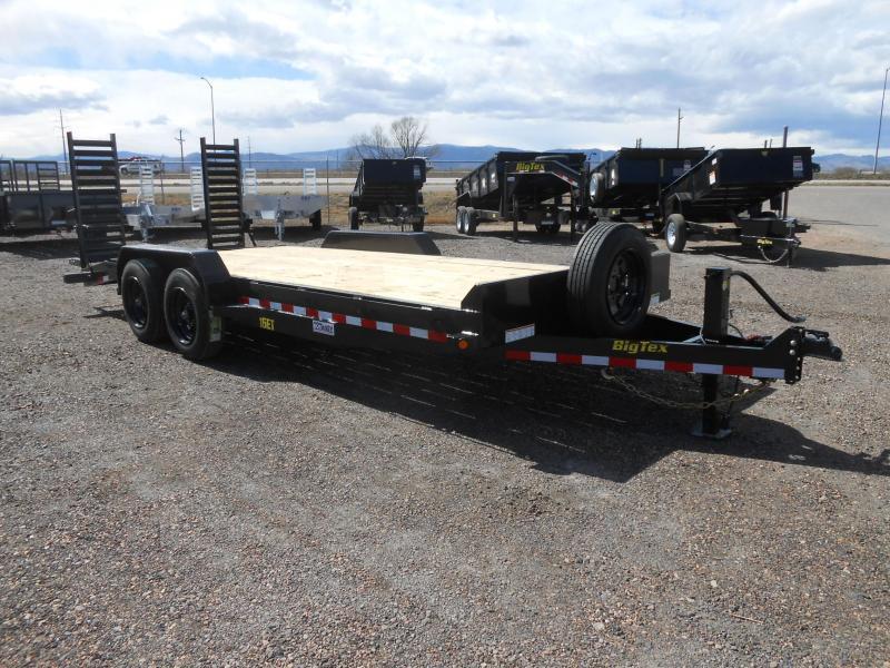 2020 Big Tex Trailers 16ET-17-3 Equipment Trailer