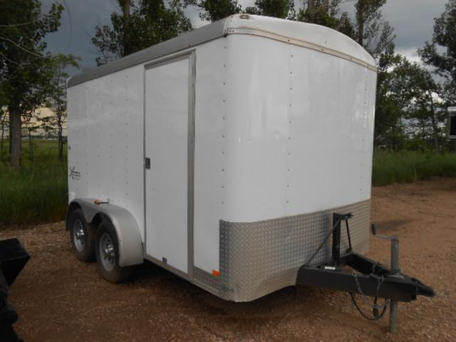 2007 Mirage Trailers 7W X 12'L XTERA Cargo / Enclosed Trailer