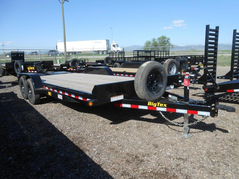 2020 Big Tex Trailers 10ET-20MR Equipment Trailer