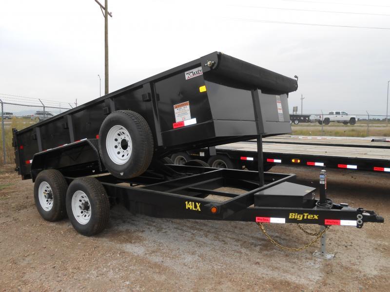 2016 Big Tex Trailers 14LX-14 Dump Trailer