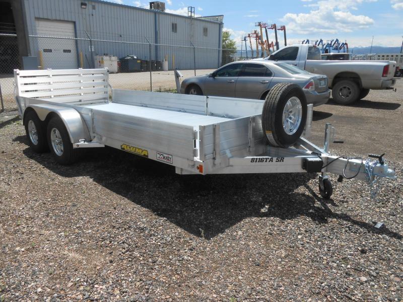 2021 Aluma 8116TA-SR-BT All Aluminum Utility Trailer