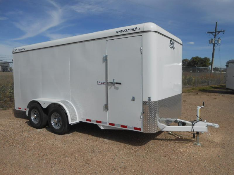 2019 CM 16FT CARGO MATE All Steel Enclosed Cargo Trailer