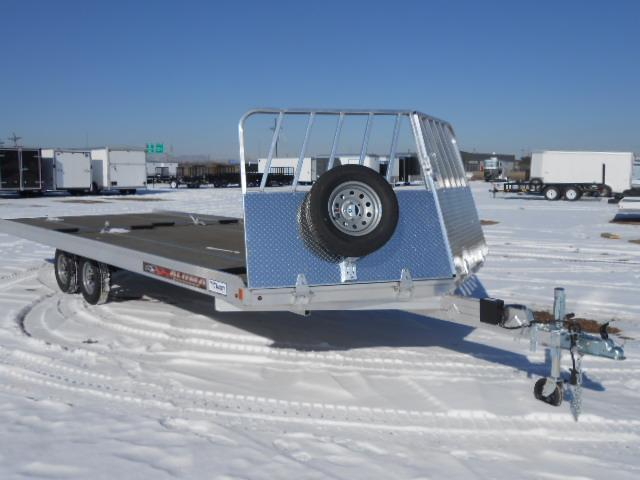 2017 Aluma 862213 22FT Snowmobile Trailer
