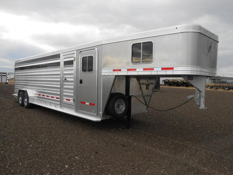 2019 Featherlite 8413-28 Livestock Trailer