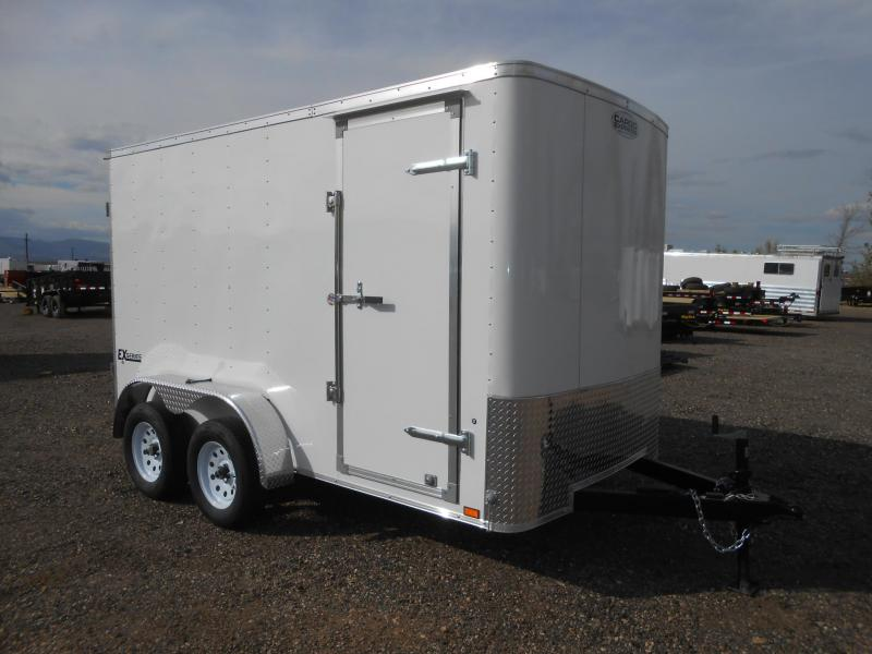2019 Cargo Express EX6X12TE2-DBL DRS Enclosed Cargo Trailer