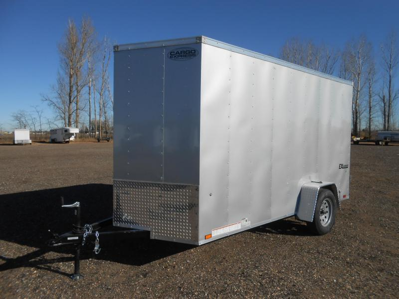 2019 Cargo Express EX6X10S12-V-DBL DRS Enclosed Cargo Trailer