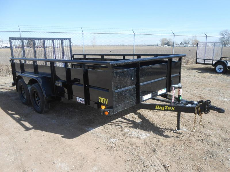2019 Big Tex Trailers 70TV-14 Solid Side Utility Trailer