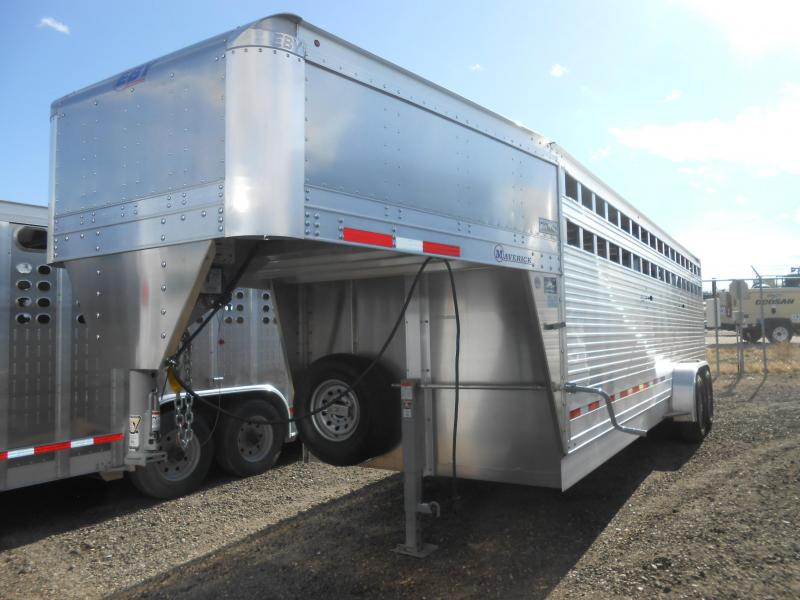 2020 EBY 24FT MAVERICK Livestock Trailer