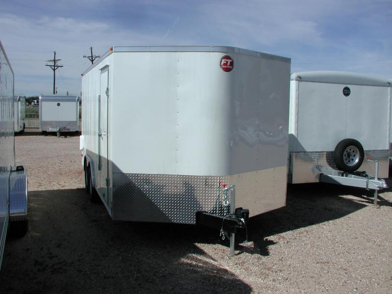 2018 Wells Cargo FT85162-DBL DRS Enclosed Cargo Trailer