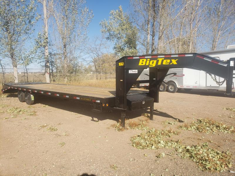 2020 Big Tex Trailers 16GN-25-5MR Gooseneck Flatbed Trailer