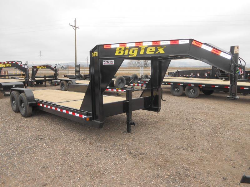 2019 Big Tex Trailers 14TL-22GN Gooseneck Tilt Deck Equipment Trailer