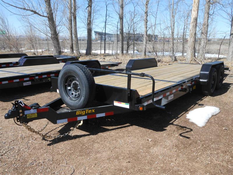 2019 Big Tex Trailers 14TL-22 Tilt Deck Equipment Trailer