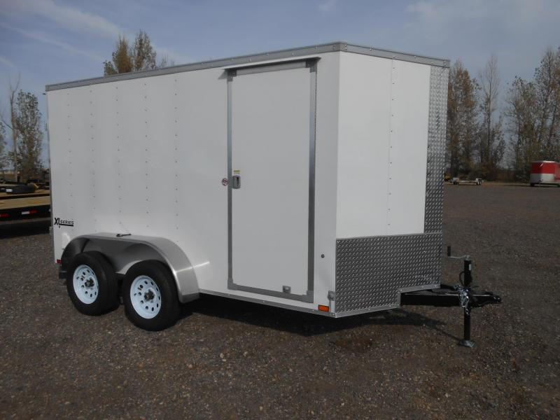 2019 Cargo Express XLW6X12TE2-DBL DRS Enclosed Cargo Trailer