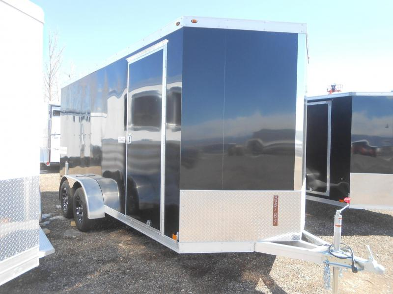 2019 Haulmark HAUV7X16WT2-RD All Aluminum Enclosed Cargo Trailer