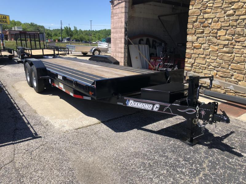 2017 22' 14.9K Diamond C Tilt Equipment Trailer. 88907