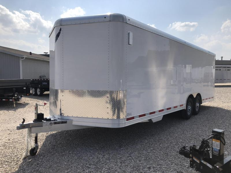 2018 24' 14k Featherlite Enclosed Car Trailer. 148862