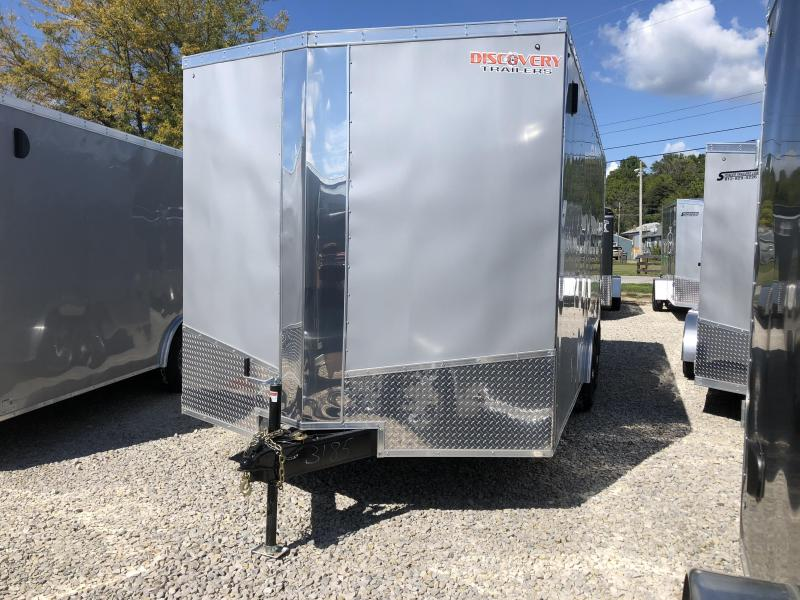 2019 8.5x18 10K Discovery Enclosed Cargo Trailer. 3185