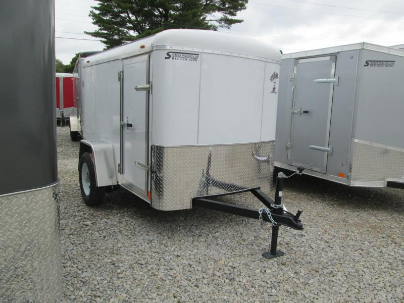 2019 5x8 Atlas Enclosed Cargo Trailer. 41037
