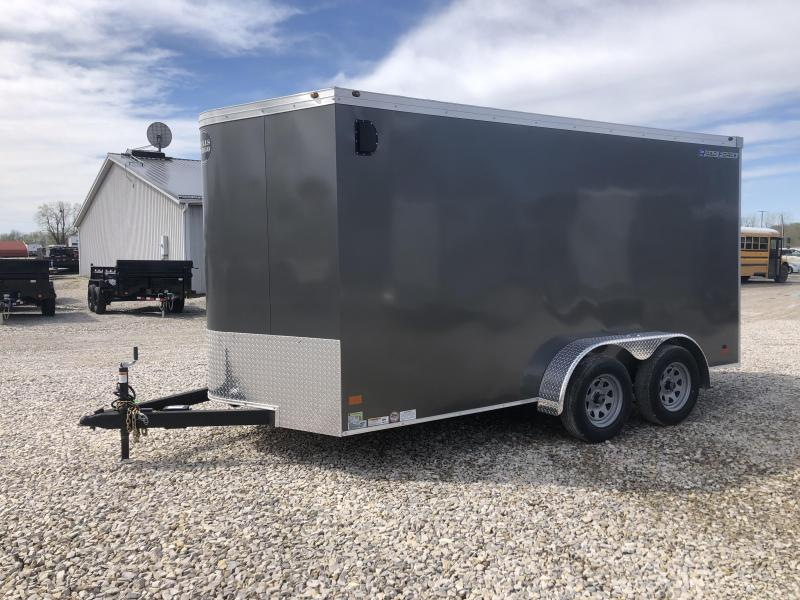 2019 7x14 7K Wells Cargo Enclosed Trailer. 00252