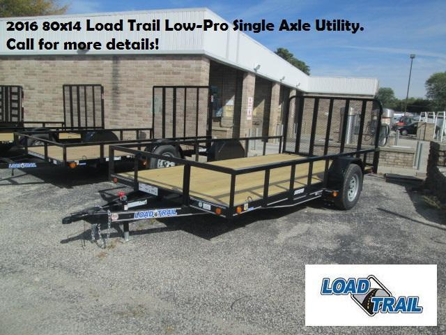 2016 80x14 Load Trail Low-Pro Single Axle Utility. 95061