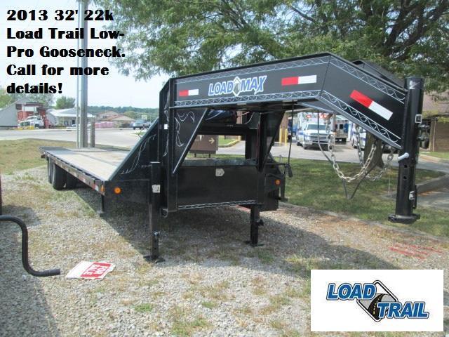 2013 32' 22k Load Trail Low-Pro Gooseneck. 40403