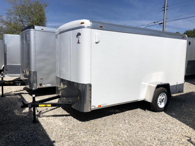 2019 6x12 Atlas Enclosed Trailer. 41330