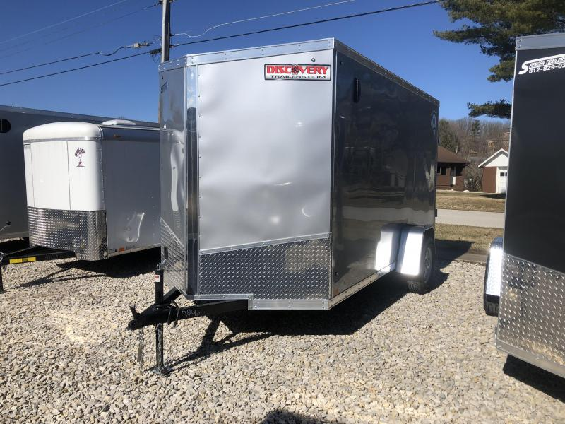 2019 6x12 Discovery Enclosed Trailer. 4246