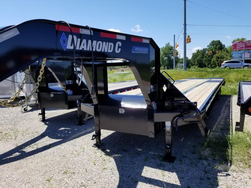 2019 35+5 Diamond C Trailers FMAX 212 Flatbed Trailer