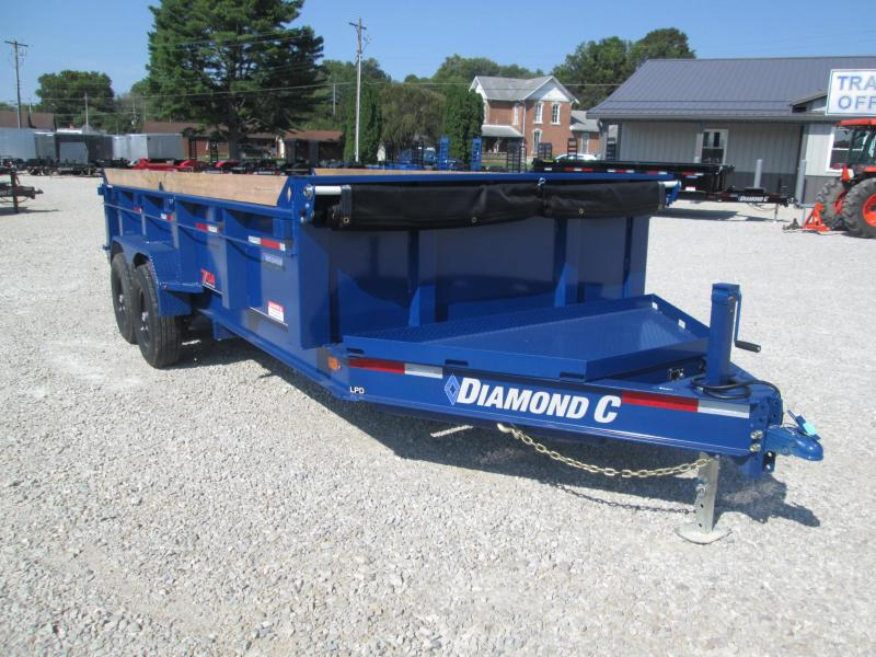 2019 16x82 14.9K Diamond C Dump Trailer. 16949