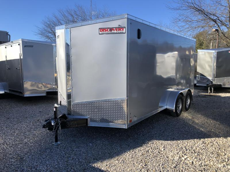 2019 7'x16' 7k Discovery Enclosed. 03921