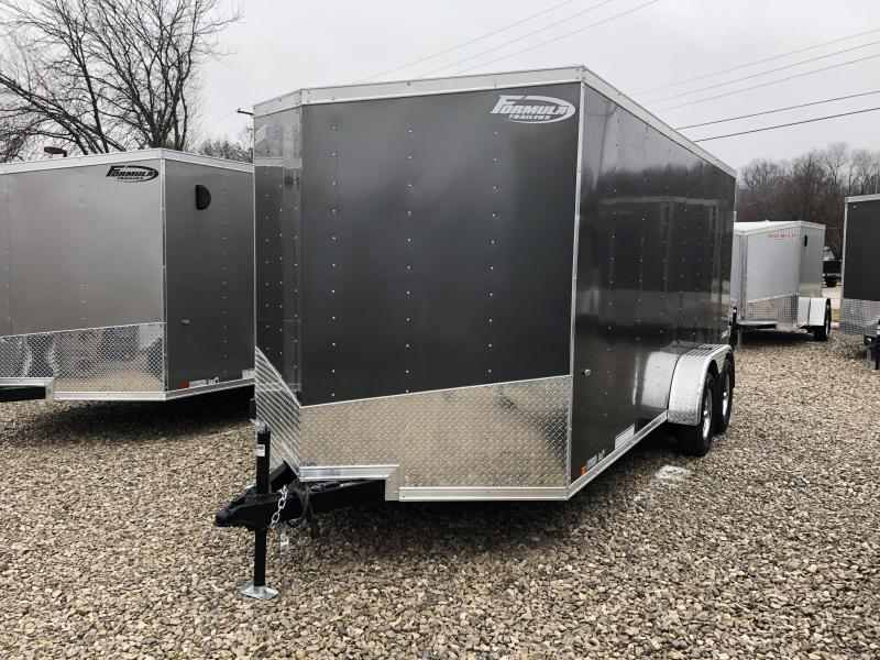 2019 7x16 7K Formula Enclosed Trailer. 839