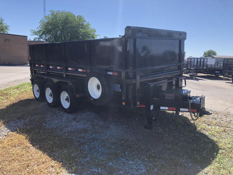 2017 83x16 21k Load Trail Dump Trailer. 30007