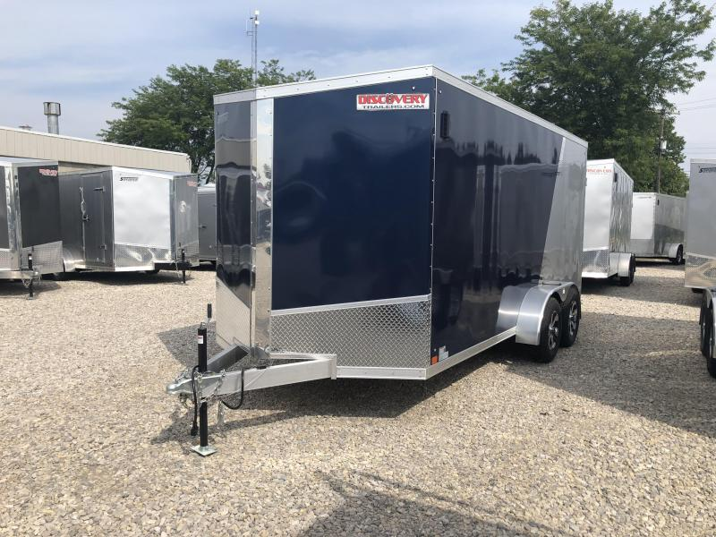 2019 7x16 7K Discovery Enclosed Cargo Trailer. 3232