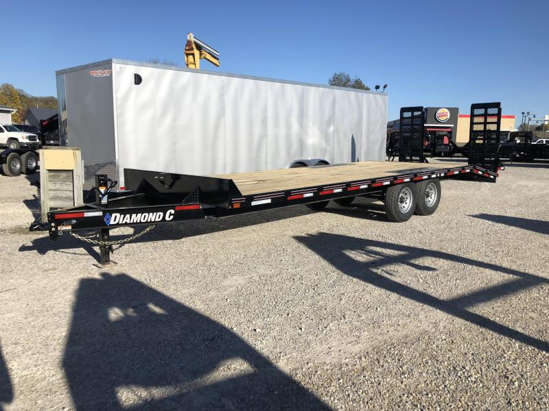 2019 20+4x102 14.9K Diamond C Equipment Trailer. 7056
