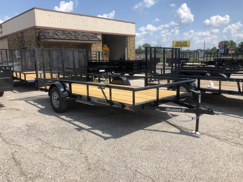 2019 14x77 Diamond C Utility Trailer. 17834