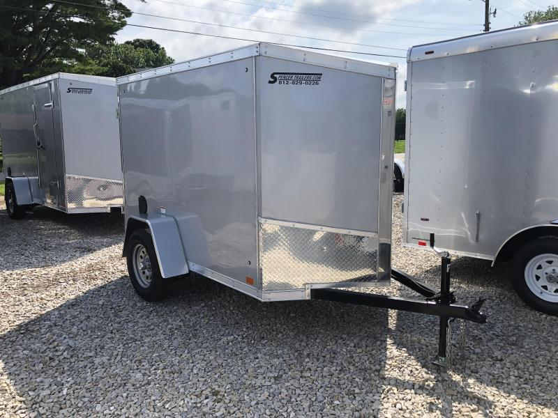 2019 5x8 Discovery Enclosed Cargo Trailer. 2514